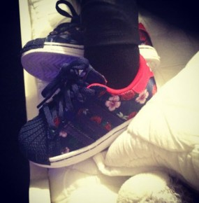 Blue Ivy's new shoes