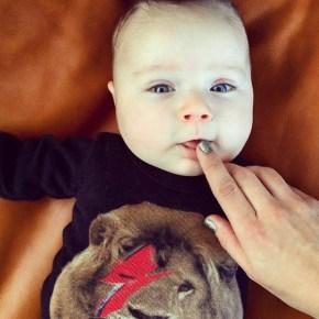 Hamish Blake's son Sonny