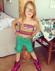 Tori Spelling's daughter Stella