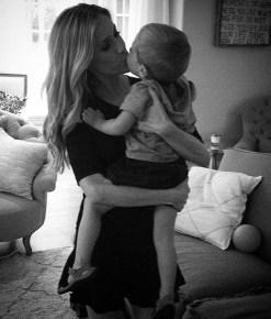 Kristin Cavallari with her son Camden
