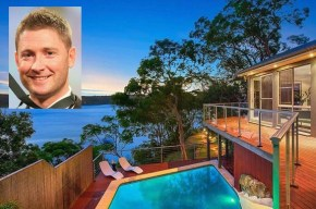 Have a sticky-beak at Michael Clarke's stunning $2.87m waterfront home.