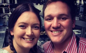 There's a bun in the oven for this former My Kitchen Rules couple.