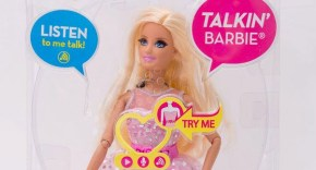 Meet the Barbie doll that swears at your child.