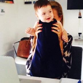 Rachel Zoe and her son Kaius
