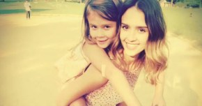 Jessica Alba dresses her girls up for a friend's wedding.