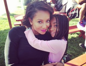 Mel B and her daughter Angel