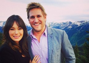 So… Curtis Stone's wife just accidentally shared the first picture of their newborn son.