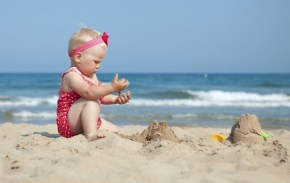 46 baby names perfect for a Summer baby.
