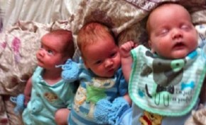This woman took the pill religiously and then she fell pregnant. With triplets.