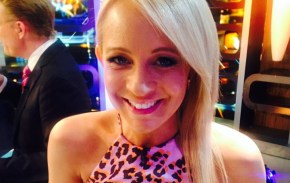 Carrie Bickmore gets the interview that the whole world wants.
