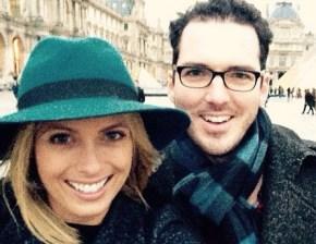 Sylvia Jefferys and Peter Stefanovic share snaps of romantic getaway.