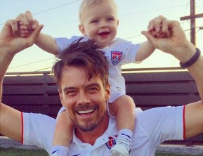 Josh Duhamel's going through the worst of the worst parenting experiences.