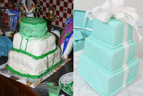 The wedding cakes that would make any bride cry.