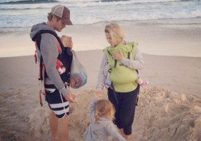 Chris Hemsworth's twins celebrate their 1st birthday. And it's gorgeous.