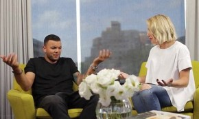 Jules interviewing Guy Sebastian is all kinds of awkward.