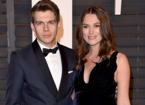 Congratulations to Keira Knightley and her husband James Righton.