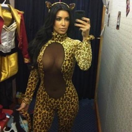 KimK Twitter Pic Halloween
