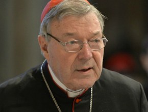 Cardinal George Pell denies claims he tried to bribe David Ridsdale to be silent over uncle's sexual abuse.