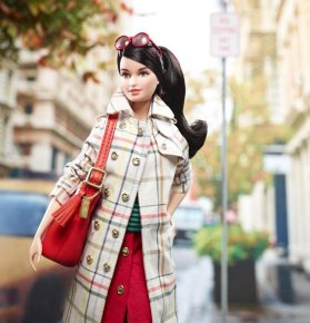 Of course your daughter's Barbie needs a designer handbag