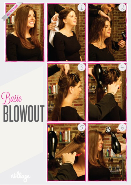 DIY Basic Blowdry