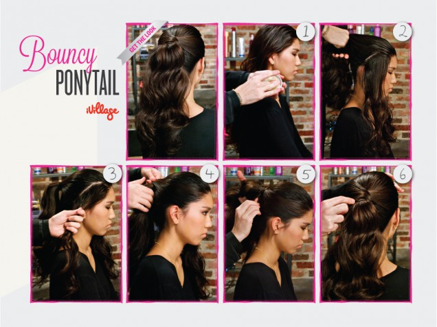 DIY Bouncy Ponytail