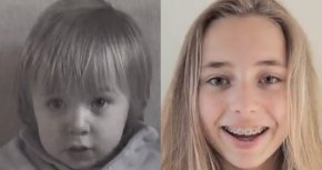It took Lotte just four minutes to go from baby to teenager…