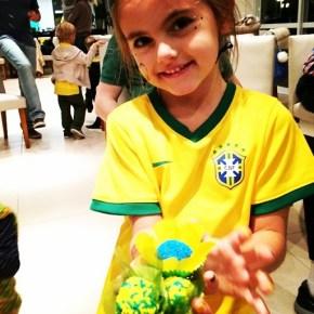 Alessanda Ambrosio's daughter