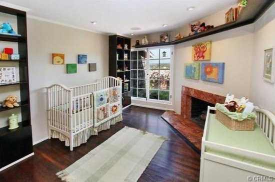 celeb baby rooms: slide 2