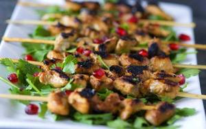 Skewered Chicken