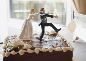 Forget the seven-year-itch. The new danger year for married couples is…