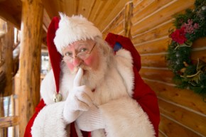 """This is how you answer the question, """"Is Santa real?""""."""
