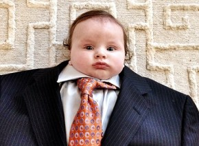 Sorry, what is 'baby-suiting'? Take it away, babies…
