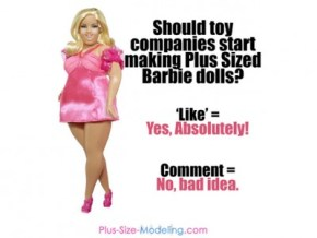Apparently, nobody is cool with plus-size Barbie