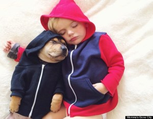 Your daily dose of cute: All kids are cuter asleep.This one's the cutest.