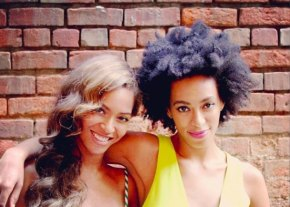 Solange posts adorable flashback photos of the family Christmas.