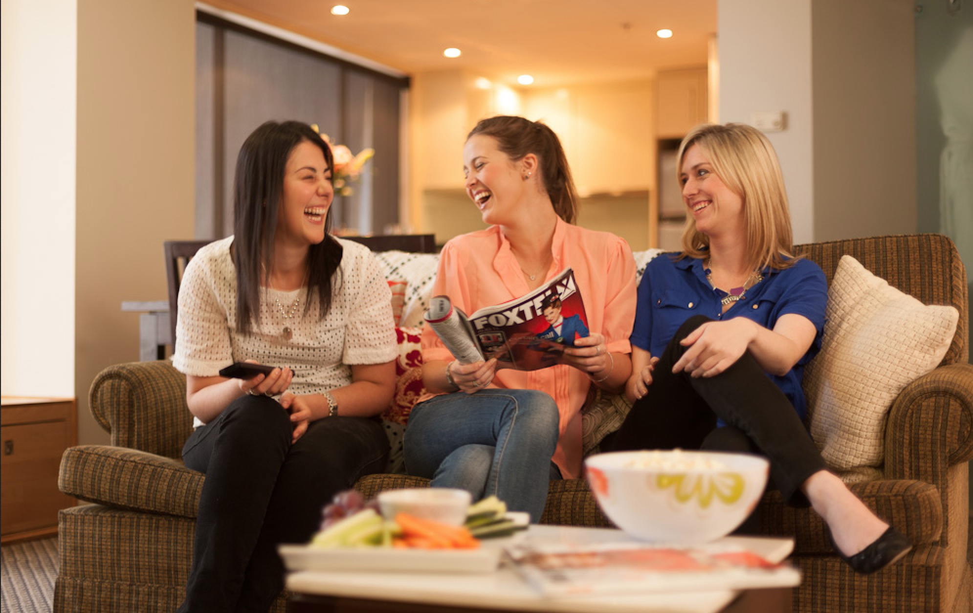 Host a Girls' Night In brought to you by The Cancer Council