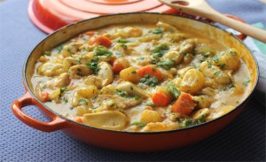 Easy and quick chicken casserole