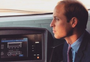Prince William is doing his dad duties the same, second time 'round.
