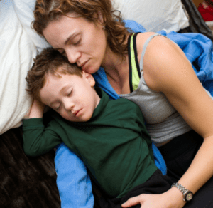 Why I still co-sleep with my 8-year-old