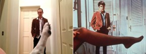 Man recreates romantic movie scenes with his dog