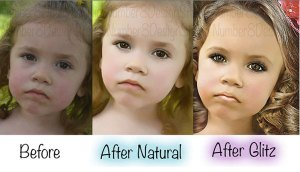Would you retouch your kid's photos?