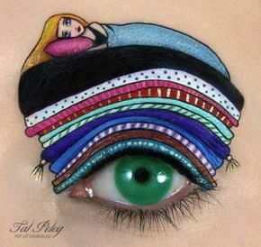 Holy eye candy! Check out these eye makeup masterpieces
