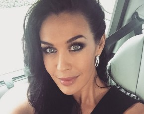 Megan Gale shares how she copes being away from her son while overseas.