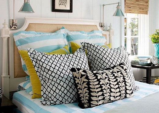 How to style Pillows like Dee from The Block.