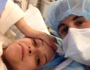 Overshare or adorable? The star who shared every moment of his baby's birth