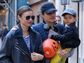 Orlando Bloom: 'I want Flynn living with me'.