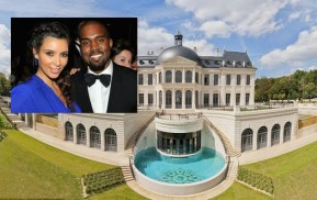 So Kim & Kanye's wedding venue has a shark tank.