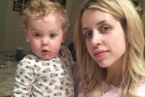 Peaches' baby son was alone for 17 hours after her death.