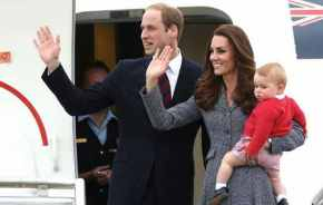 So long. Farewell. Prince George says his final goodbye.