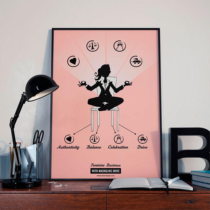 feminine-business-plakat